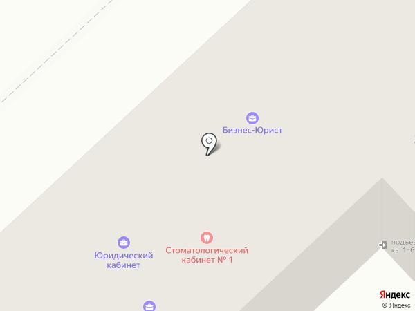 Интерстич на карте Орла