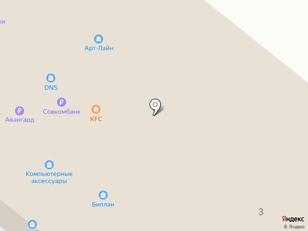 Магазин компьютерных аксессуаров на карте Орла