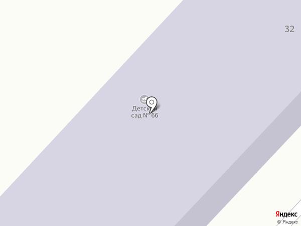 Детский сад №66 на карте Орла
