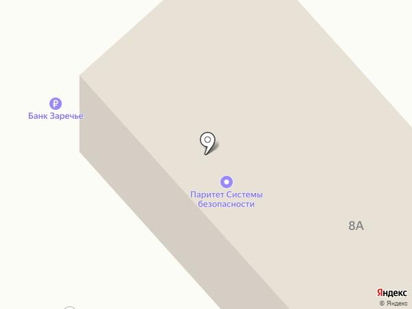 АКБ Заречье на карте Орла