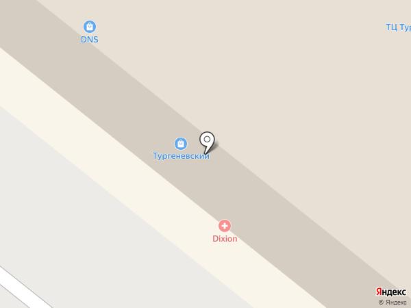 ПРЯЖА-В-ОРЛЕ.РФ на карте Орла