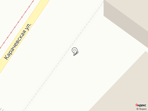 Светофор на карте Орла