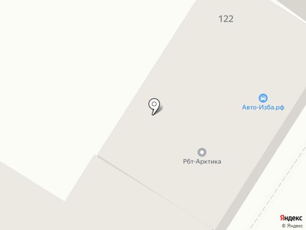 Авто-Изба на карте Орла