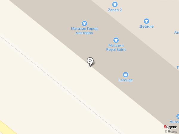 Связной на карте Орла