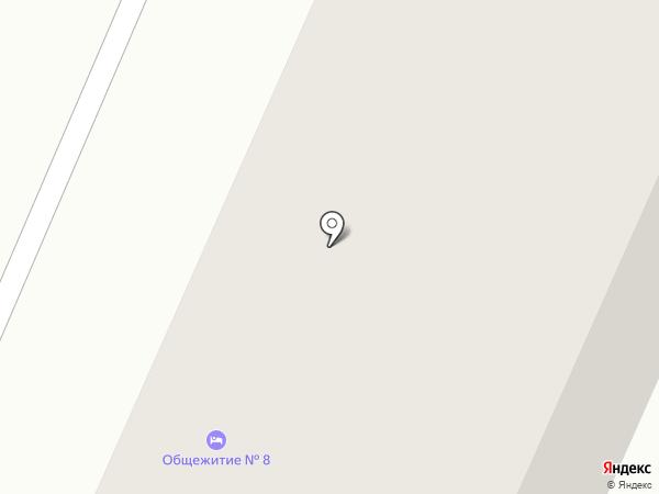 Общежитие на карте Сахарово