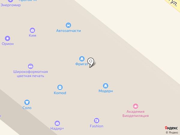 Барон Мюнгхаузен на карте Орла