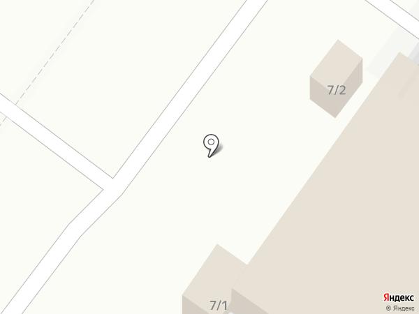 Киоск хлебобулочных изделий на Щепной на карте Орла