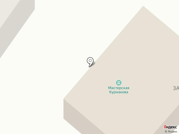 Мемориальная мастерская А.И. Курнакова на карте Орла