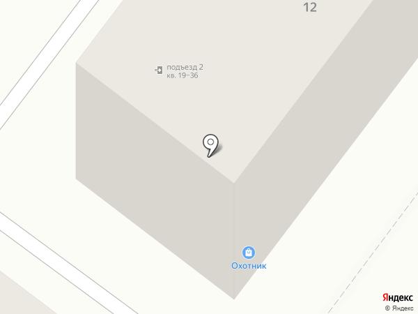 Охотник на карте Орла