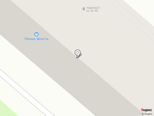 Аптека на ул. Цветаева на карте Орла