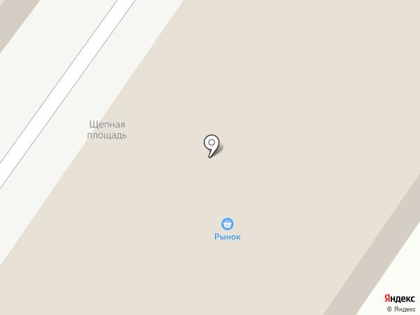 На Щепной на карте Орла