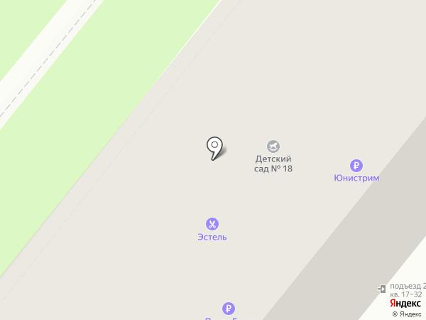 Эстель на карте Орла