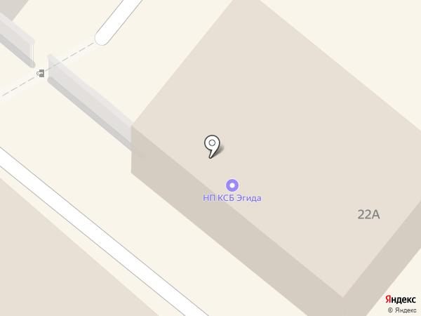 Эгида на карте Орла