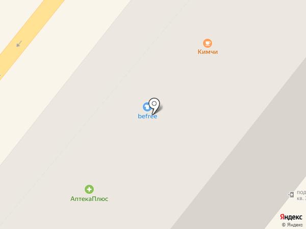 Befree на карте Орла