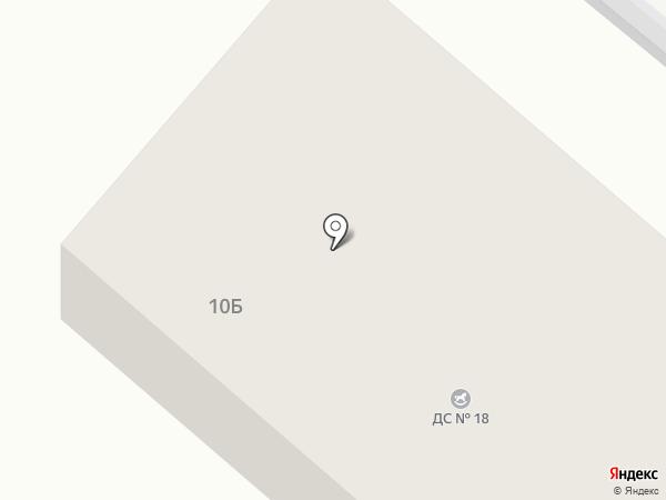 Детский сад №18 на карте Орла