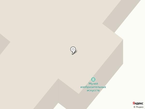 Музей изобразительных искусств на карте Орла