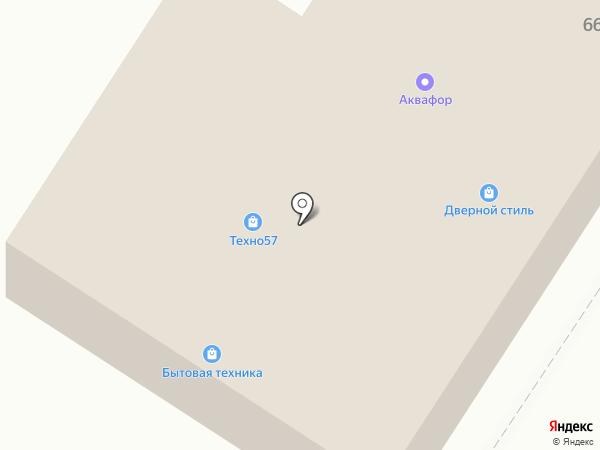 Двери-сейфы на карте Орла