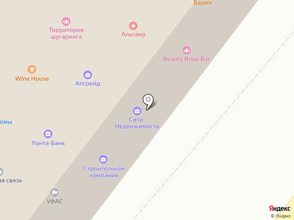 Звездочка на карте Орла