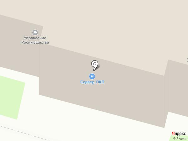 Орел-оптика на карте Орла
