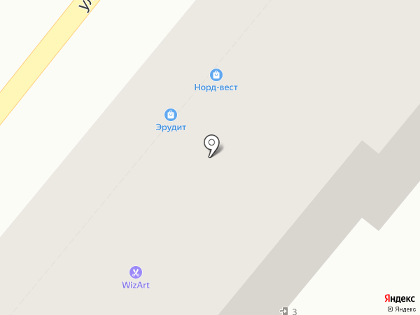 Биплан на карте Орла