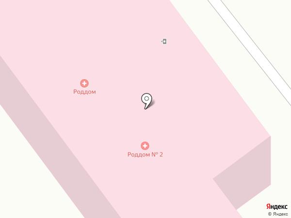 Родильный дом на карте Орла