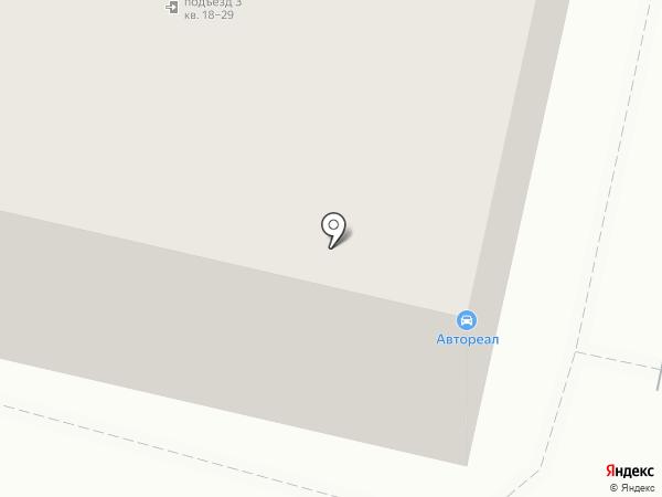 Автореал на карте Орла
