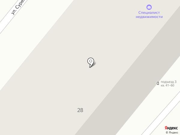 РС на карте Орла