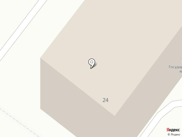 Государственный архив Орловской области на карте Орла