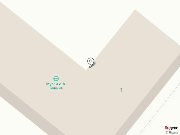 Музей И.А. Бунина на карте Орла