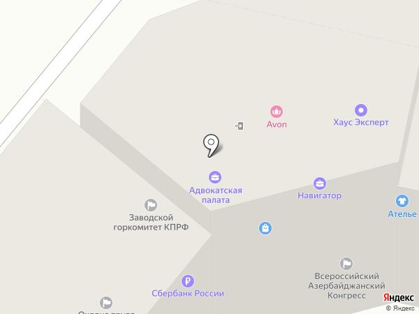 Орловский центр охраны труда на карте Орла
