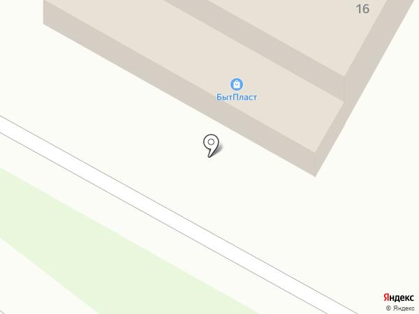 Лёвушка на карте Воротынска