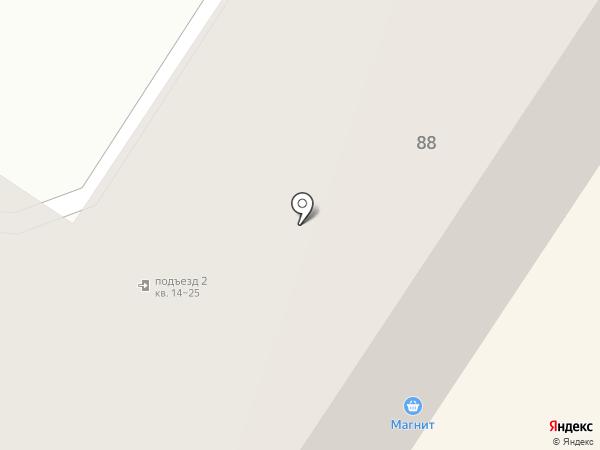 Квадратный метр под солнцем на карте Орла
