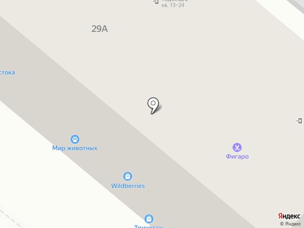 Фигаро на карте Орла