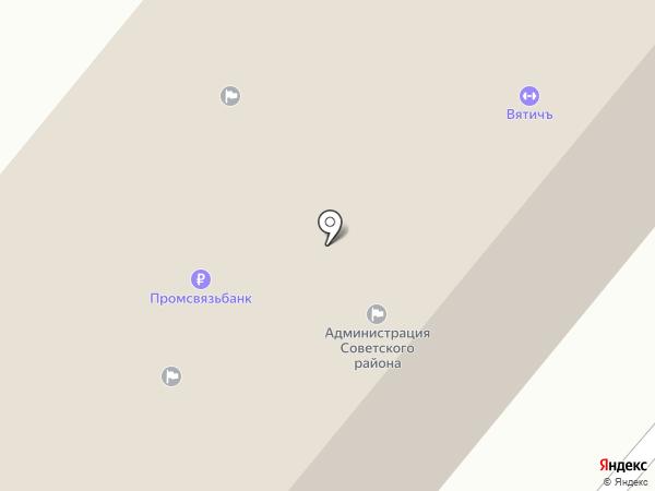 Единая Россия на карте Орла
