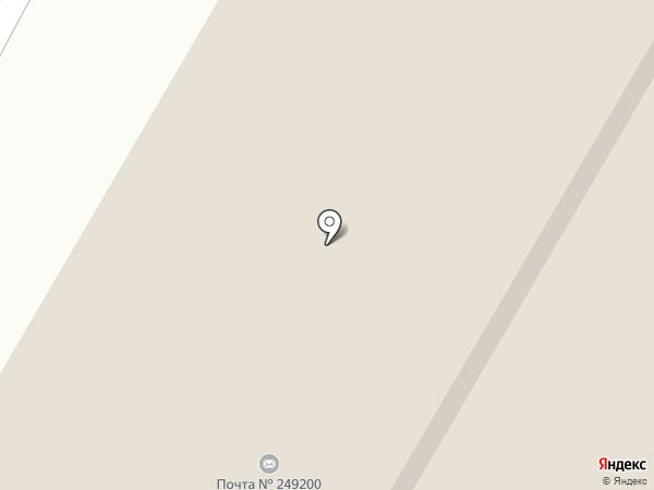 Савушка на карте Воротынска