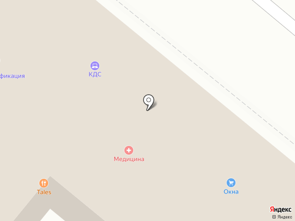 Медицина, ЗАО на карте Орла