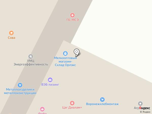 Главное бюро медико-социальной экспертизы по Орловской области, ФКУ на карте Орла