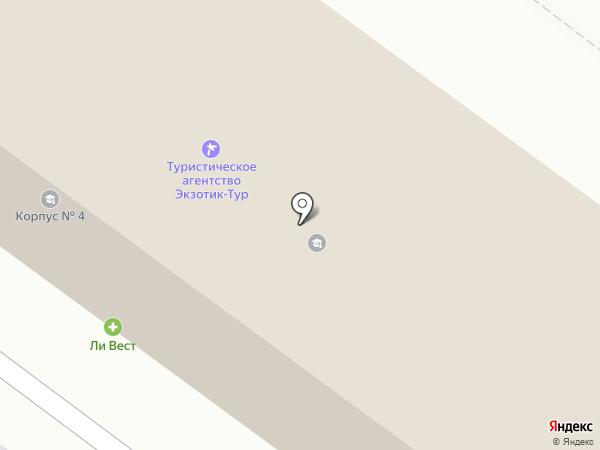 АНСОР на карте Орла