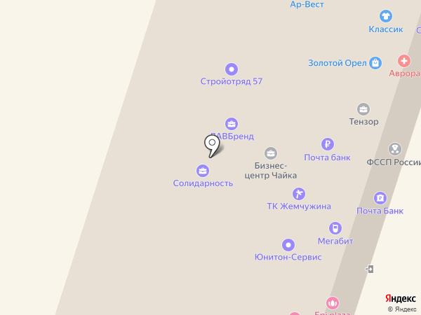 Юнитон на карте Орла