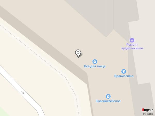 Монастырская лавка на карте Орла