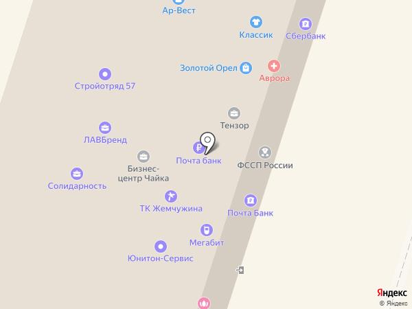 Яблочный сервис в Орле на карте Орла
