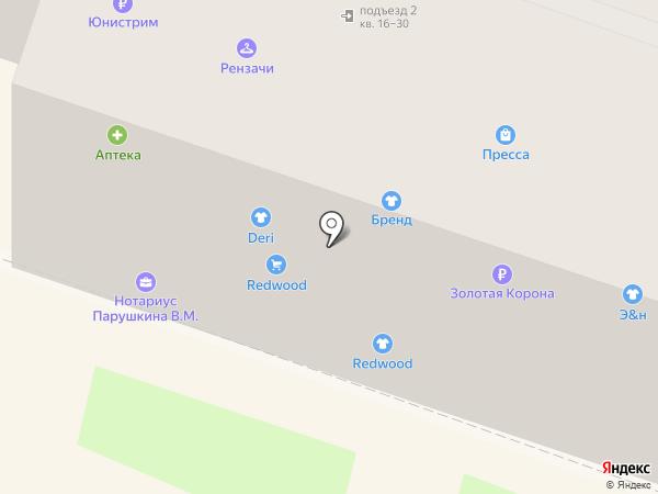 Эко & ника-Redwood на карте Орла
