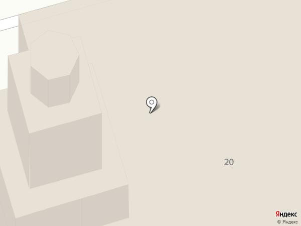 Успенский собор на карте Орла