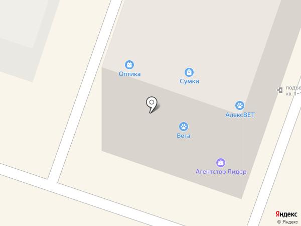 Пуговка на карте Орла
