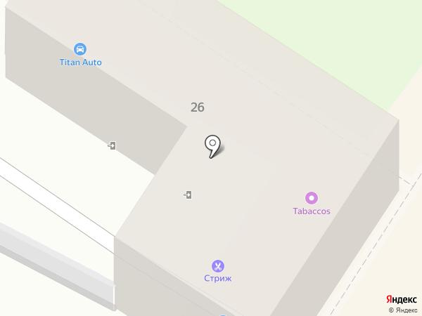 Гимназист на карте Орла