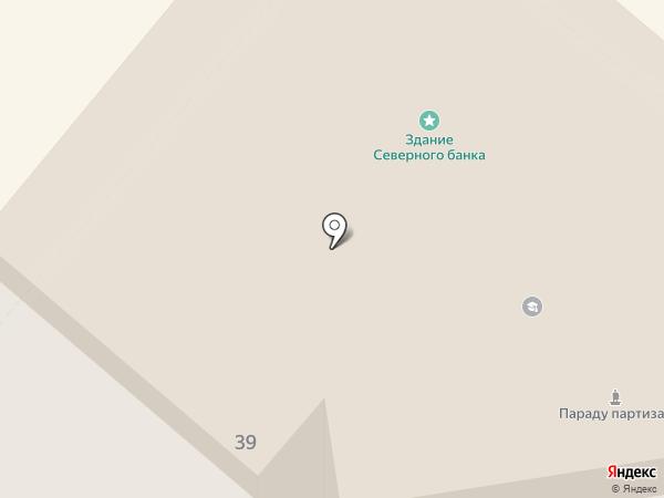 АКБ Связь-Банк на карте Орла