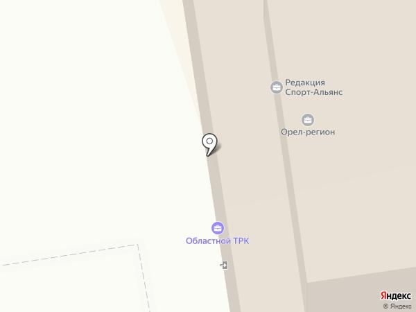 Экспресс Орел, FM 100.4 на карте Орла