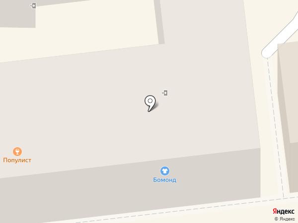 Сова на карте Орла
