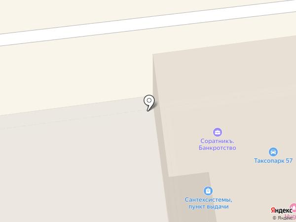 Орелсайтстрой на карте Орла