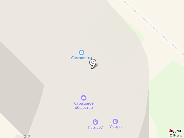 Заправка5 на карте Орла
